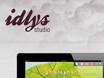 Teasing : IDLYS studio website idlys webdesign