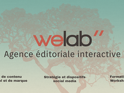 New Welab - first shot webdesign logo