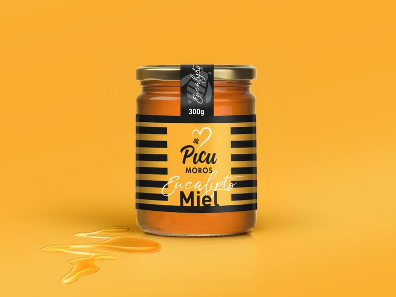Picu Moros Honey design packaging food packaging packaging design product packaging branding food branding