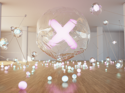 StudioX cinema 4d vray 3d styleframe studio balls sphere x glass