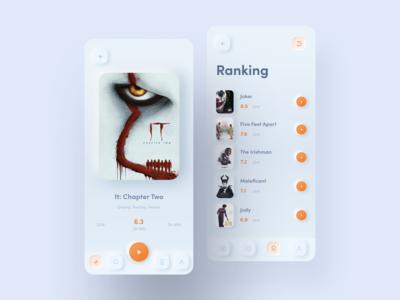 Skeuomorph Movie App
