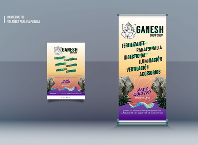 Design for Grow shop Ganesh
