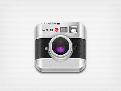 Camera camera icon lens m8 metal leica