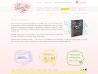 whimsical style website design