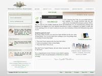 financial co web UI