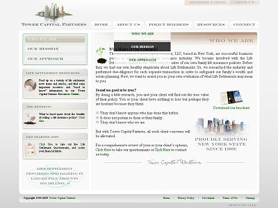 financial co web UI web gui gui flash webdesign theming user interface web ui web design