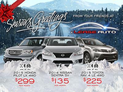 auto dealer direct mail piece advertisement