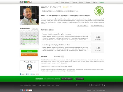 SAAS Profile page UX UI Frontend ux ui