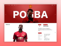 Paul Pogba Player Page