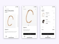 Men's Jewellery E-commerce UI