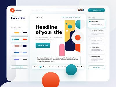 Website building platform web figma design ux application ui