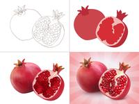 Pomegranate (process)