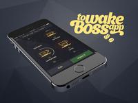 ToWakeBossApp (concept)