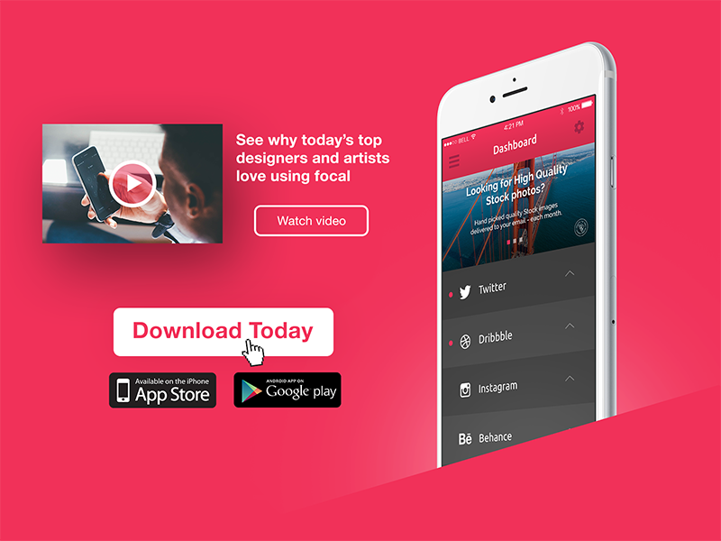 Download App // 074 by Ryan Duffy on Dribbble