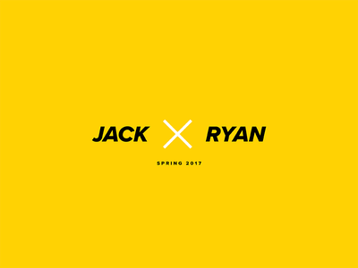 JxR  ryan duffy jack harvatt brief collab project coming soon spring 2017