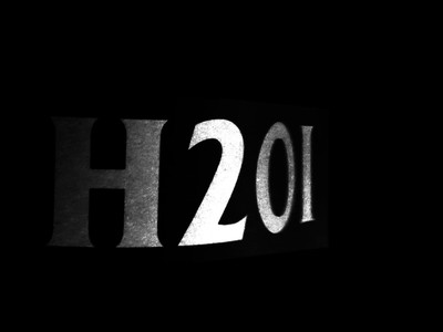 H2Oi 2018 Intro logo wind flag experimental wavy motion graphic intro h2oi cars video static glitchy ryan duffy youtube video production logo mark branding