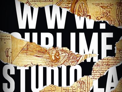 Sublime Studio Website Promo ux ui draft sketch web website design web design webdesign website conceptart concept art illustration vector art design
