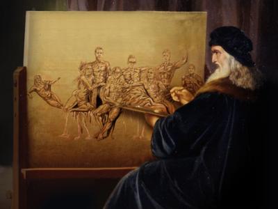 Da Vinci Painting Sublime Studio