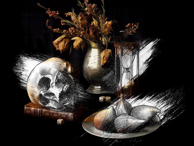 Dead Nature Post Sublime Studio artist modern modern logo modernism conceptart sketch art direction illustrator artwork design art draft concept art illustration