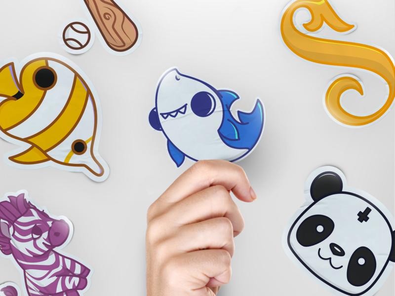 Stickers Pack vector brand lettering mascot sketch draft conceptart art branding logo characterdesign character cartoon design illustration sticker design sticker mule stickermule stickers sticker