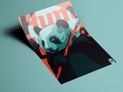 New Inbox Inserts animal logo flyer bear panda bear panda animal badge animal art logo branding posters poster design poster art illustration vector design