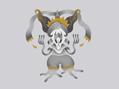 Bastien godlien god alien brush vector creepy characterdesign affinitydesigner affinity digitalillustration illustration