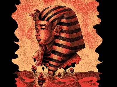 Ozymandias band music tshirt merchandise artwork dark art illustration poster heavy metal egyptian egypt