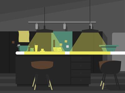Lemon kitchen