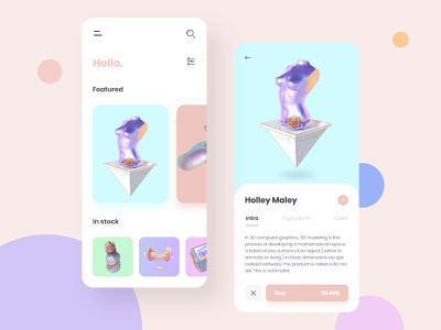 Hollo. Mordenn illustraion mobile app mobile minimal icon inspired app ux filter file ui design