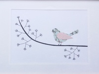 Paper Art Birds