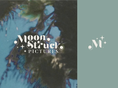 Moonstruck Logo videography illustration brand identity design custom type logo typography identity custom logo creative brand branding