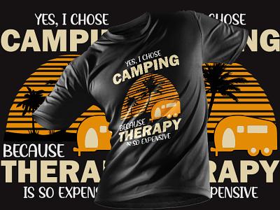 Camping T-Shirt Design amazon logo t-shirt design a t-shirt lab amazon t-shirts design tshirtdesign camping logo camping camping t shirts t-shirt design editable t-shirt design template custom font t-shirt typography