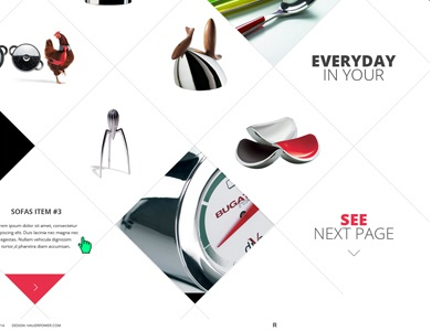 list of products on the offer page offer page list of products webdesign graphic design