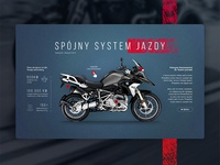 Motorcycle Tour web design