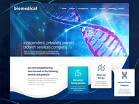 Biomedical web design