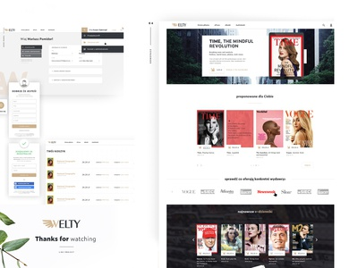E-commerce Welty - bookstore