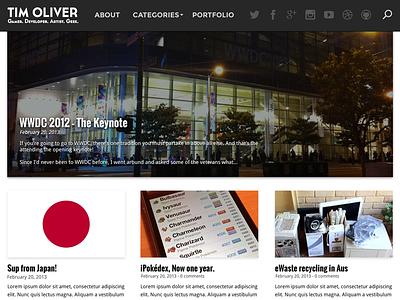 My Blog Redesign for 2013 blog redesign wordpress theme responsive