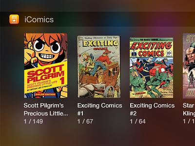iComics iOS 8 Today Widget ios ios8 widget icomics today iphone notification center