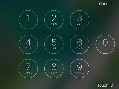 iOS Horizontal Lock Screen fullscreen uikit iphone ios