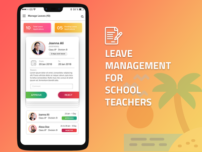 Leave Management Application