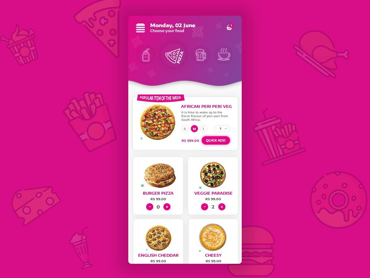 Food Delivery Application restaurant food
