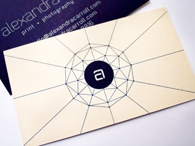 Dribbble businesscards