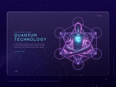 DNA Activation - 3D Modelling & Interface Concept // pt. 5. spiritual sacred geometry universe astral quantum mechanics quantum ascension flat clean minimal 3d art 3d futuristic ui hightech design interface glassmorphism website web ui