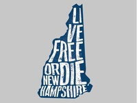 Live Free Or Die Graphic