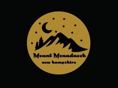 Mount Monadnock Sticker