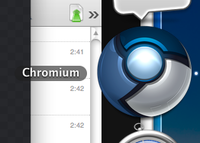 Trying Chromium, needed a new icon...