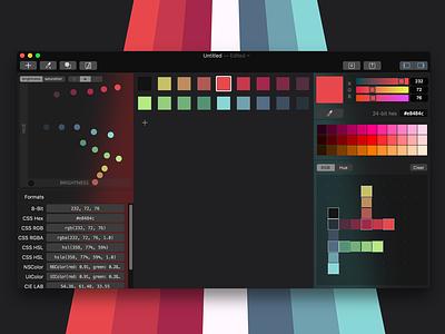 Gamut Test gradient colors color palette pixel art color app gamut