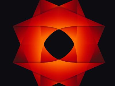 Folded Identity identity logo icon origami folded