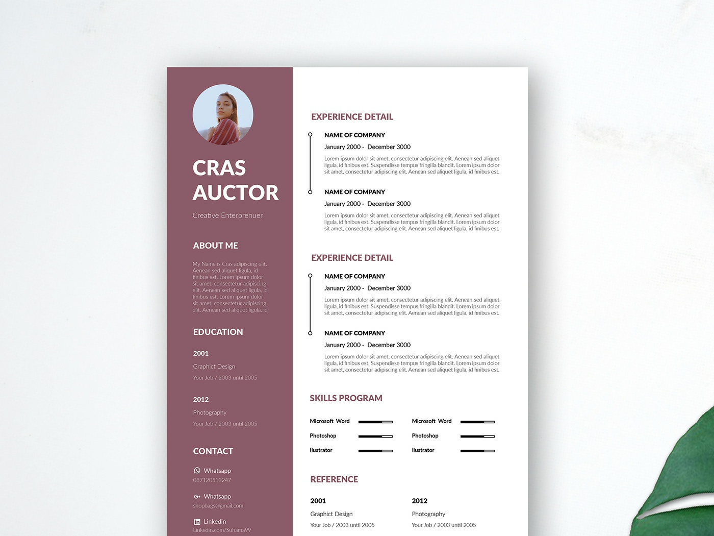 free editable resume template by james han on dribbble