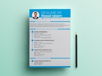 Free Engineering CV/Resume Template